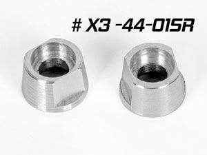 Hongnor Alu Bevel Gear Holder #X3-44-01SR (2P)