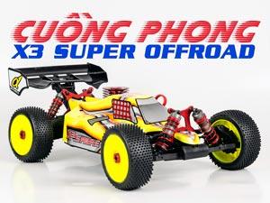 HongNor Buggy 1/8 X3 Cuồng Phong 2,4G RTR