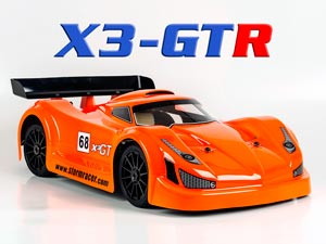 Super Racing Nitro X3-GTR 120km/h RTR