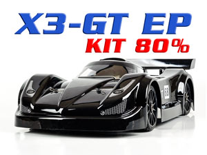 Racing X3-GT Electric 4WD (Kit 80%)