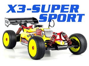 HongNor Buggy 1/8 X3-SUPER SPORT 2,4G RTR