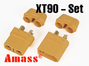 Amass Connector XT90 Set 5.0mm (2P)