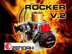 Zenoah G300-PUM ROCKER V.2 for Boats