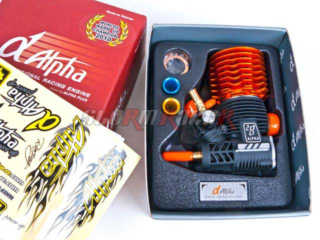 Alpha 28 Monster Power T-850 (4.6cc) ORANGE 5 ports
