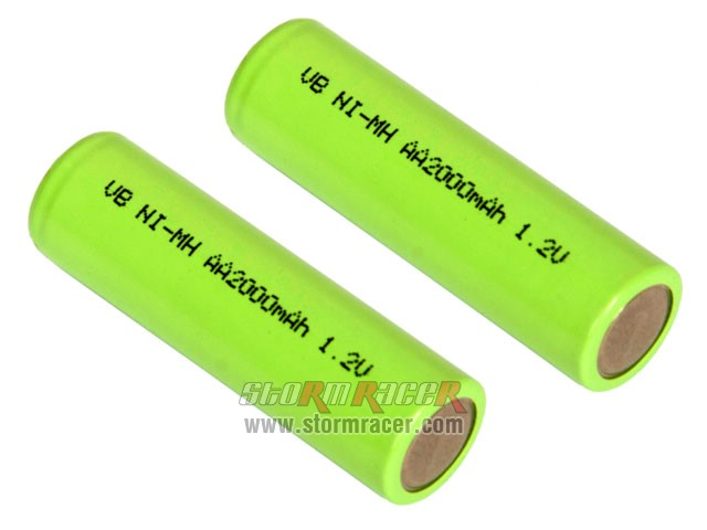 VB Power AA Battery 2000mAh 1,2V (2) 002