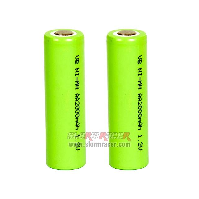 VB Power AA Battery 2000mAh 1,2V (2) 003
