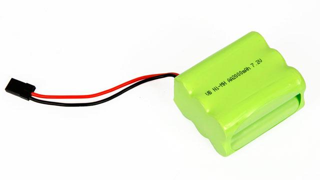 Pin RX Ni-MH 7.2v 2000mAh 001