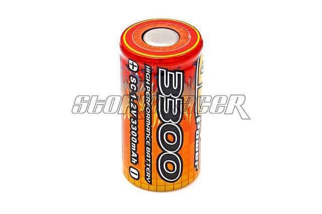 VBPower Ni-MH Battery 3300mAh 1,2V cell