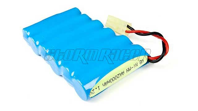 VB Power Ni-MH Battery 2000mAh 7,2V jack Tamiya