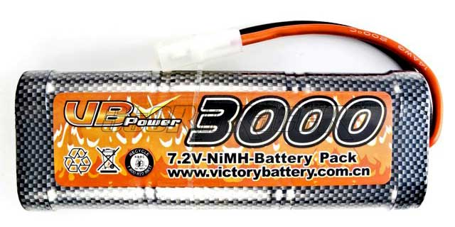 VB-Power Ni-MH Battery 3000mAh 7,2V