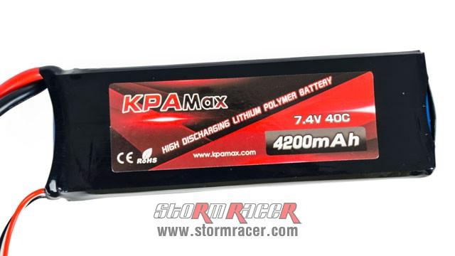 KPAMax Lipo 40C 4200mAh (7.4V) 004