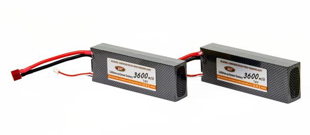 SST Lipo 3600mAh 30C 2S (7.4V) Combo 2 003