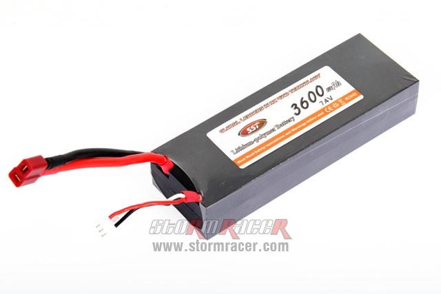 SST Lipo 7,4V 3600mAh 002