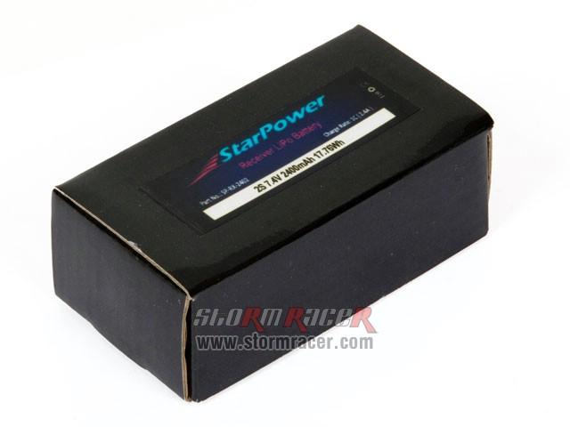 StarPower Lipo 2S 2400mAh 7,4V 001