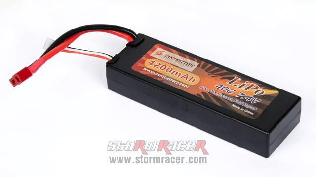 Vant Battery Li-Po 4200mAh 40C 2S (7,4V) 003