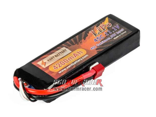 Vant Battery Li-Po 4200mAh 45C 11v1 002