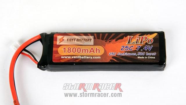 Vant Lipo 25C 1800mAh 7.4V 003