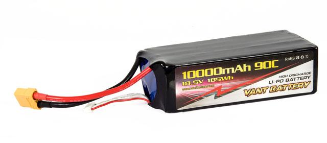 Vant Battery Lipo 10000mAh 90C 5S (18.5V) 004