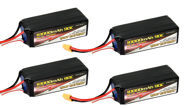 Vant Battery Lipo 10000mAh 90C 5S (18.5V) Combo 4 001