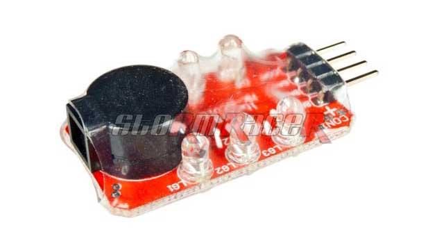 Arrowind Lipo Low Voltage Alarm LM2-3S