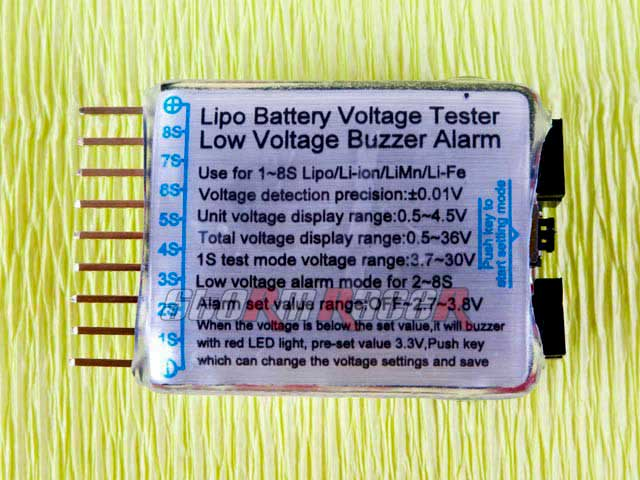 Imax Lipo Battery Voltage Tester