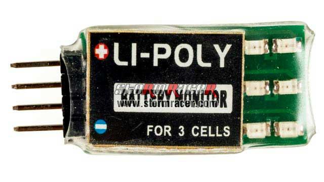 Arrowind 3S Lipo Monitor