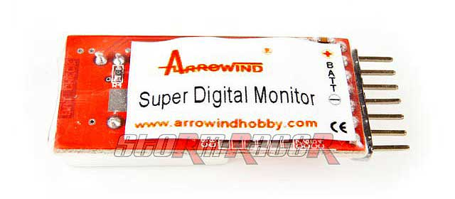 Arrowind Super Lipo Monitor LM6S (1p)