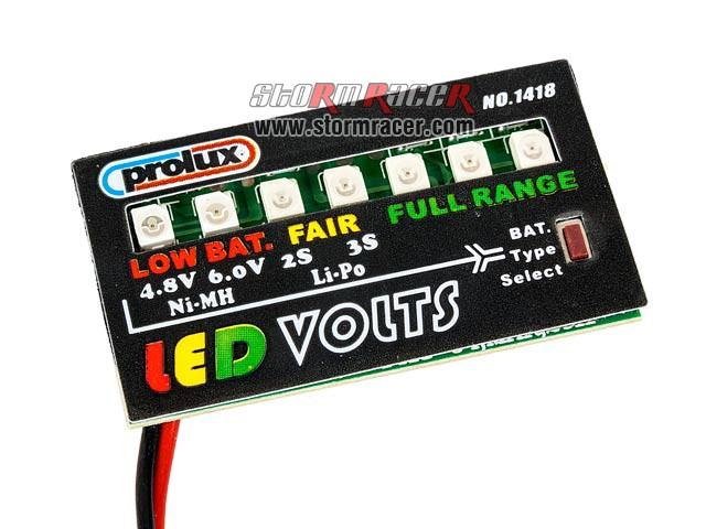 LED Volts #1418 001