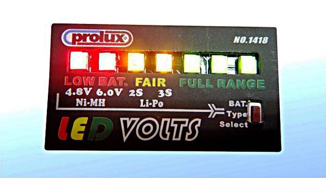 LED Volts #1418 006
