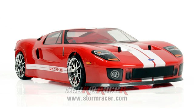 HPI 1/10 Body Ford GT (200mm) #7495 004