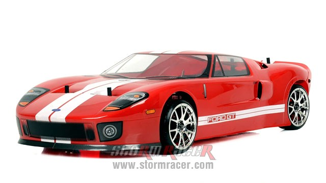 HPI 1/10 Body Ford GT (200mm) #7495 009