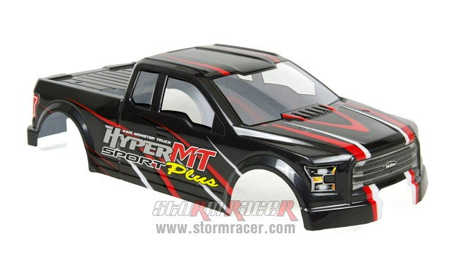 Body HoBao MT 1/8 Truck 003