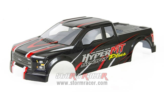 Body HoBao MT 1/8 Truck 004