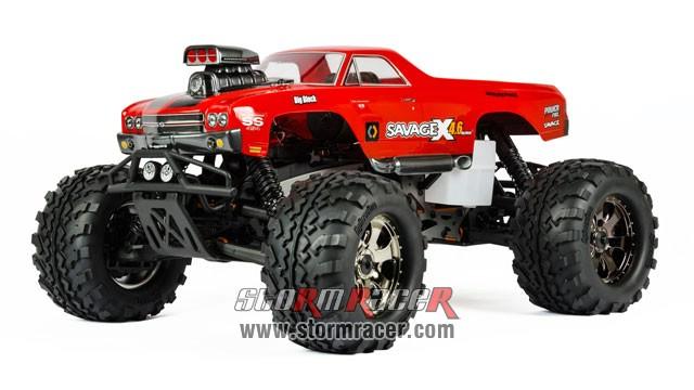 HPI 1/8 Truck Body Chevrolet Camino #7177 002