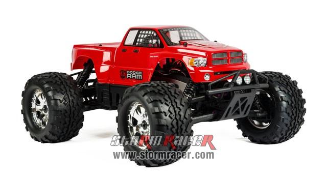 HPI 1/8 Truck Body Dodge Ram 2002 #7178 002