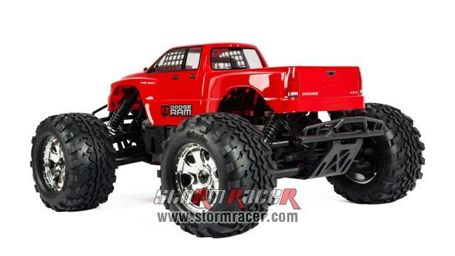 HPI 1/8 Truck Body Dodge Ram 2002 #7178 007