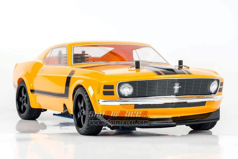 HPI 1/10 Body Ford Boss 302 #17546 (200mm) 003