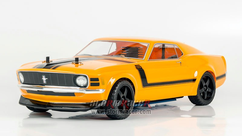HPI 1/10 Body Ford Boss 302 #17546 005