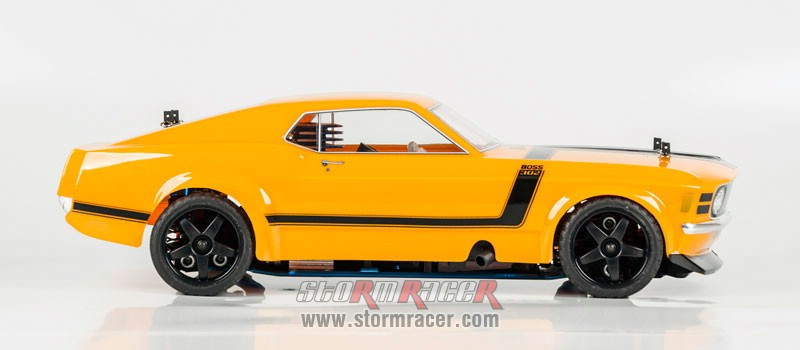 HPI 1/10 Body Ford Boss 302 #17546 (200mm) 006