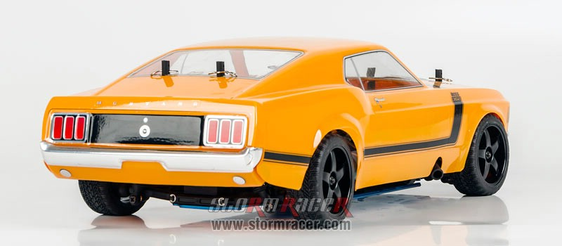 HPI 1/10 Body Ford Boss 302 #17546 (200mm) 008
