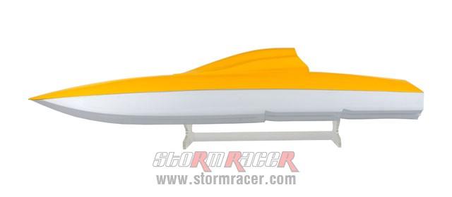 Vỏ Tàu Composite CATAMARAN (110cm) 005