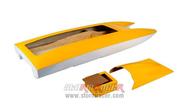 Vỏ Tàu Composite CATAMARAN (110cm) 013