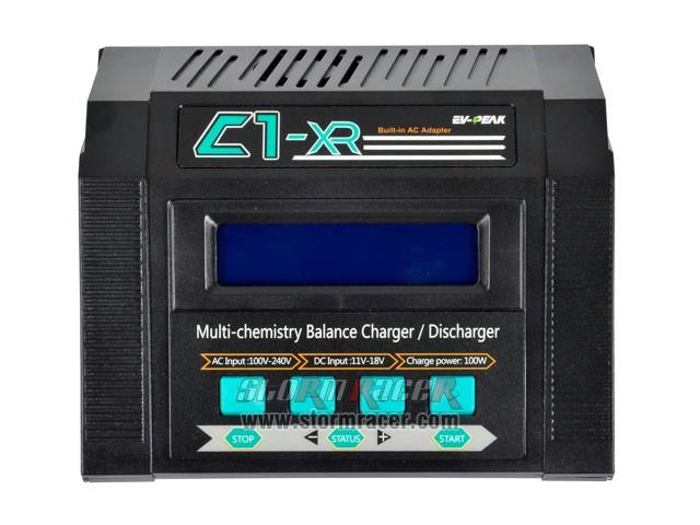 EV-PEAK Balance Charger C1-XR 100W-10A 009