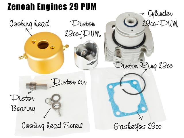 Zenoah 290PUM Kit Parts (set)