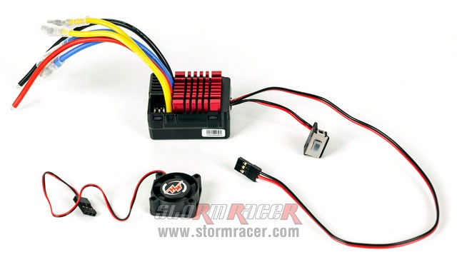 QuicRun Dual Brushed ESC 60A #0806 004