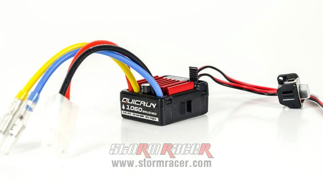 QuicRun Brushed ESC 60A #1060 005