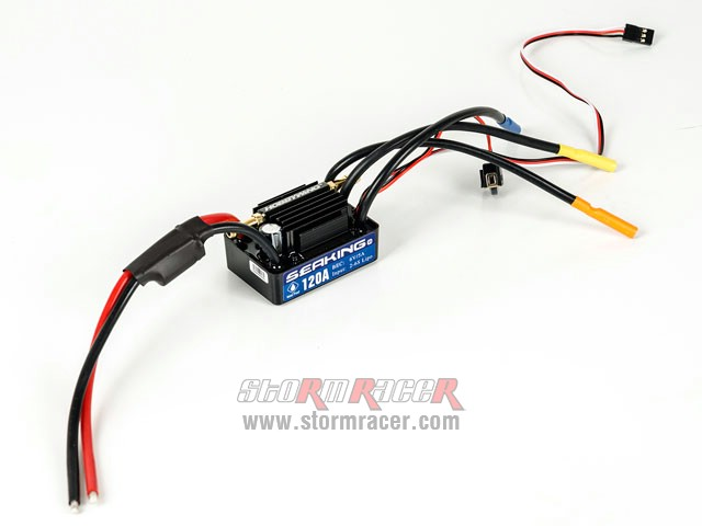 SeaKing Waterproof ESC 120A V.3 003