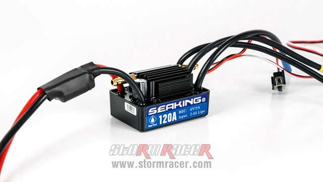 SeaKing Waterproof ESC 120A V.3 004