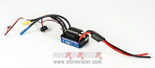 SeaKing Waterproof ESC 120A V.3 006