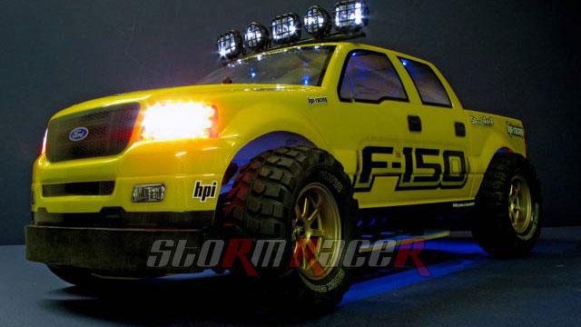 Ford F-150 độ đèn 1/10 Electric RTR